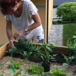 visoke grede nudijo užitek vrtnarjenju